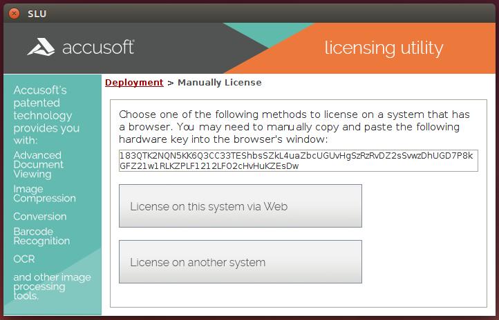 Server Licensing Utility (SLU)