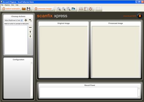 ScanFix Xpress Demo Layout